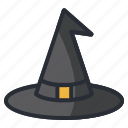 halloween, hat, magic, witch icon icon