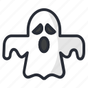 dead, ghost, halloween, phantom, scary icon