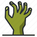 dead, halloween, living, zombie icon icon