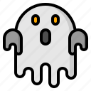 ghost, halloween, scary, spirit, spooky
