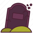 cemetery, ghost, graveyard, halloween, scary, spooky icon