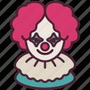 avatar, clown, halloween, horror, joker, scary, terrer icon