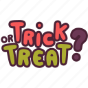 halloween, holidays, horror, kid, treat, trick