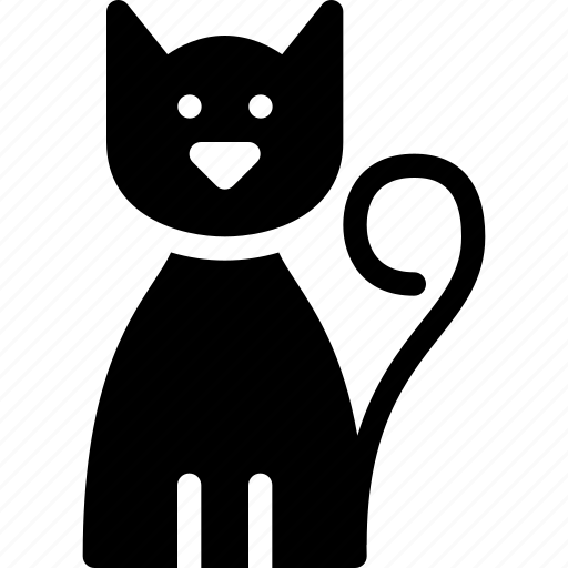 animal, cat, ghost, halloween, pet, scary, spooky icon