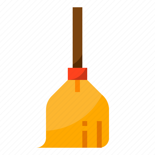 broom, cleaning, halloween, witch, wizard icon