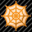 animal, forest, halloween, spider, web