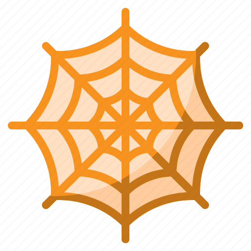 animal, forest, halloween, spider, web icon