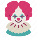 avatar, clown, halloween, horror, joker, scary, terrer icon