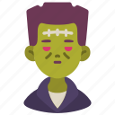 frankenstein, ghost, halloween, horror, scary, spooky, zombie icon