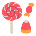 candy, dessert, halloween, kid, sweet, trick icon