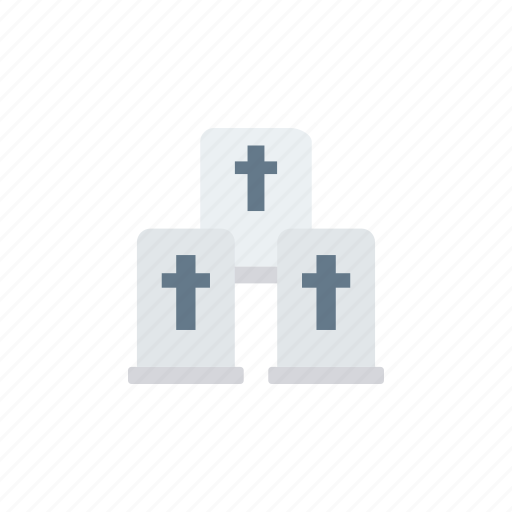 casket, cemetry, coffin, graveyard icon