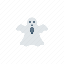 clown, ghost, pacman, spooky icon