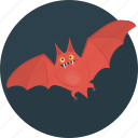 animal, bat, fear, halloween icon