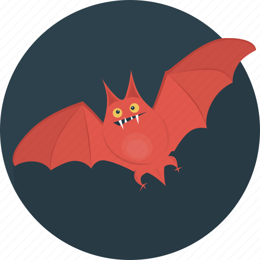 animal, bat, fear, halloween, holiday, scary icon