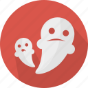death, fear, ghost, halloween icon