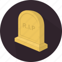 fear, death, halloween, grave, scary, horror, holiday icon