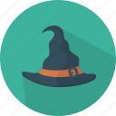 fear, halloween, hat, witch hat icon