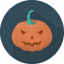 fear, halloween, holiday, horror, pumpkin, scary, vegetable icon