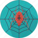 animal, cobweb, fear, halloween, holiday, insect, spider icon