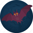 animal, bat, celebration, darkness, halloween, holiday, scary icon