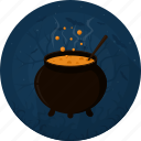 boiler, celebration, darkness, halloween, holiday, potion, witches cauldron icon