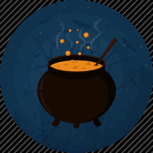 boiler, celebration, darkness, halloween, holiday, potion, witches cauldron icon