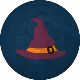 cap, celebration, darkness, halloween, hat, holiday, witch hat icon