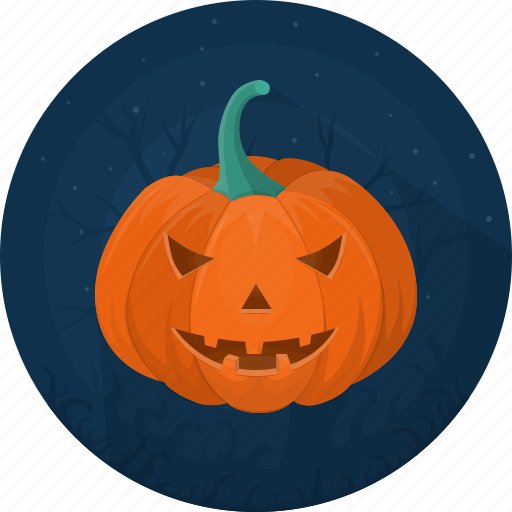 Celebration, evil, halloween, pumpkin, vegetable, darkness, holiday icon - Download on Iconfinder
