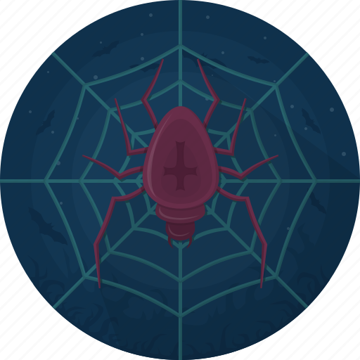 Animal, celebration, evil, halloween, spider, cobweb, holiday icon - Download on Iconfinder