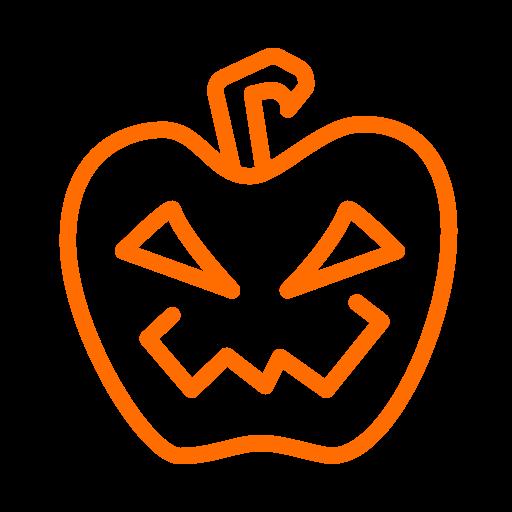 Halloween, lantern, pumpkin, scary icon - Free download