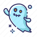 character, emoji, facial expression, ghost, halloween icon