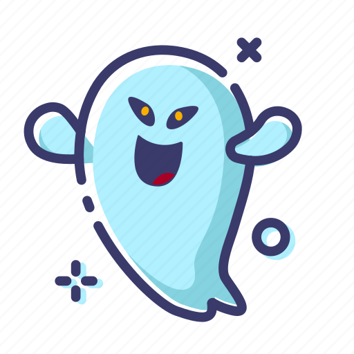 character, facial expression, ghost, halloween, spooky icon