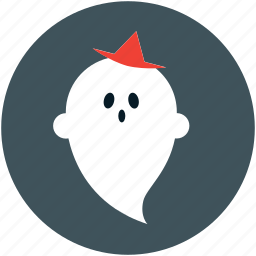 boo, ghost, halloween, spooky icon