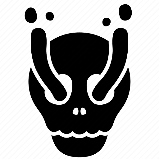 ghost, halloween, horror, scary, skeleton, skull, spooky icon