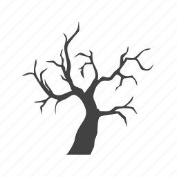 branches, hallowee, plant, scary tree, spooky tree, tree icon