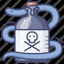 medicine, poison, potion, snake