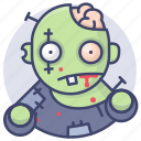 horror, zombie, halloween