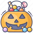 candy, halloween, or, treat, trick