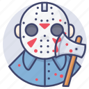mask, horror, jason