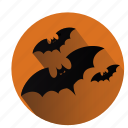 bat, batman, bats, creep, fear, halloween, monsters icon