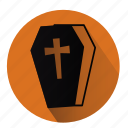 coffin, gravy, halloween, rip, tomb, tombstone, vampire icon
