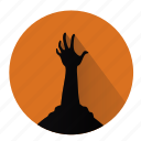 creepy, halloween, horror, scary, walking-dead, zombie, zombies icon