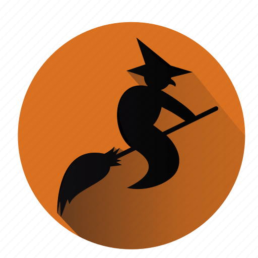 broom, evil, halloween, horror, magic, witch, wizard icon