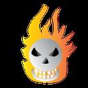 bone, burning, halloween, scary
