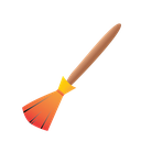 broom, halloween, scary, stick, witches broom icon