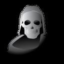 scary, death, halloween, skull, reaper icon
