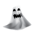 ghost, halloween, hauted, scary icon
