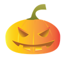 halloween, pumpkins, scary icon