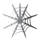 halloween, scary, spider, web icon