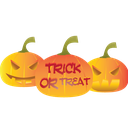 trick, scary, trick or treat, halloween, treat icon